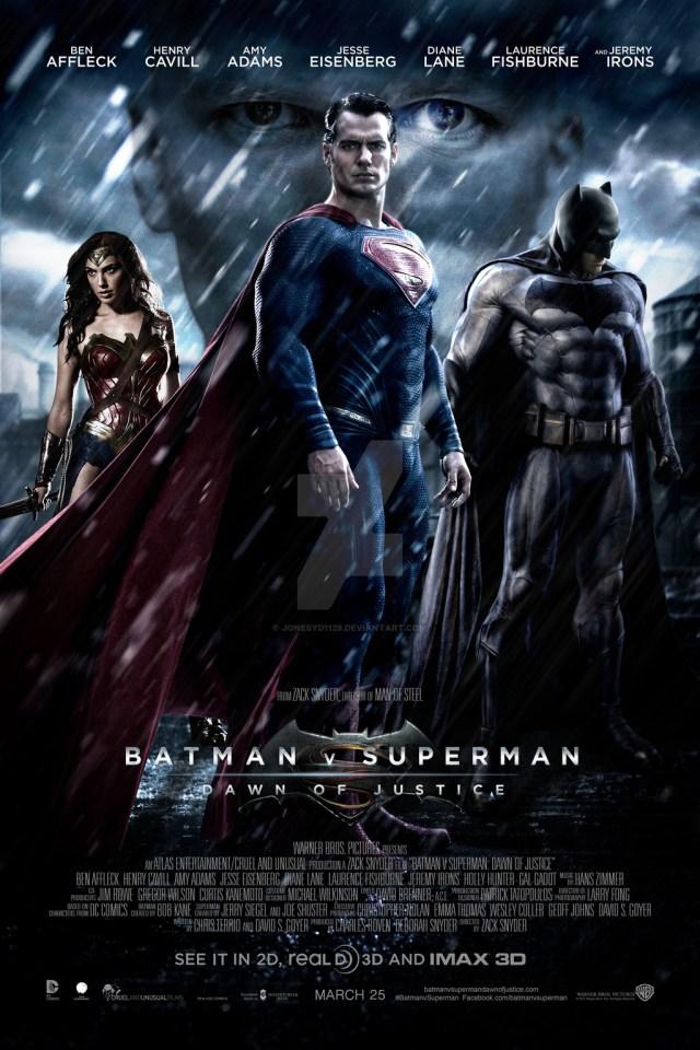 Batman V Superman - Locandina