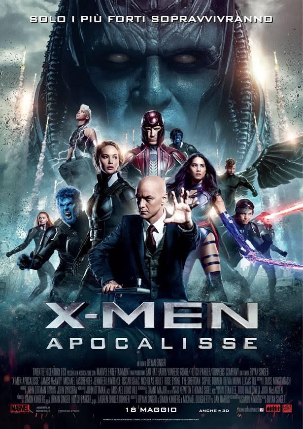 X- Men - Apocalisse - Locandina