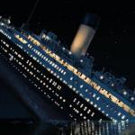 Un fotogramma di Titanic