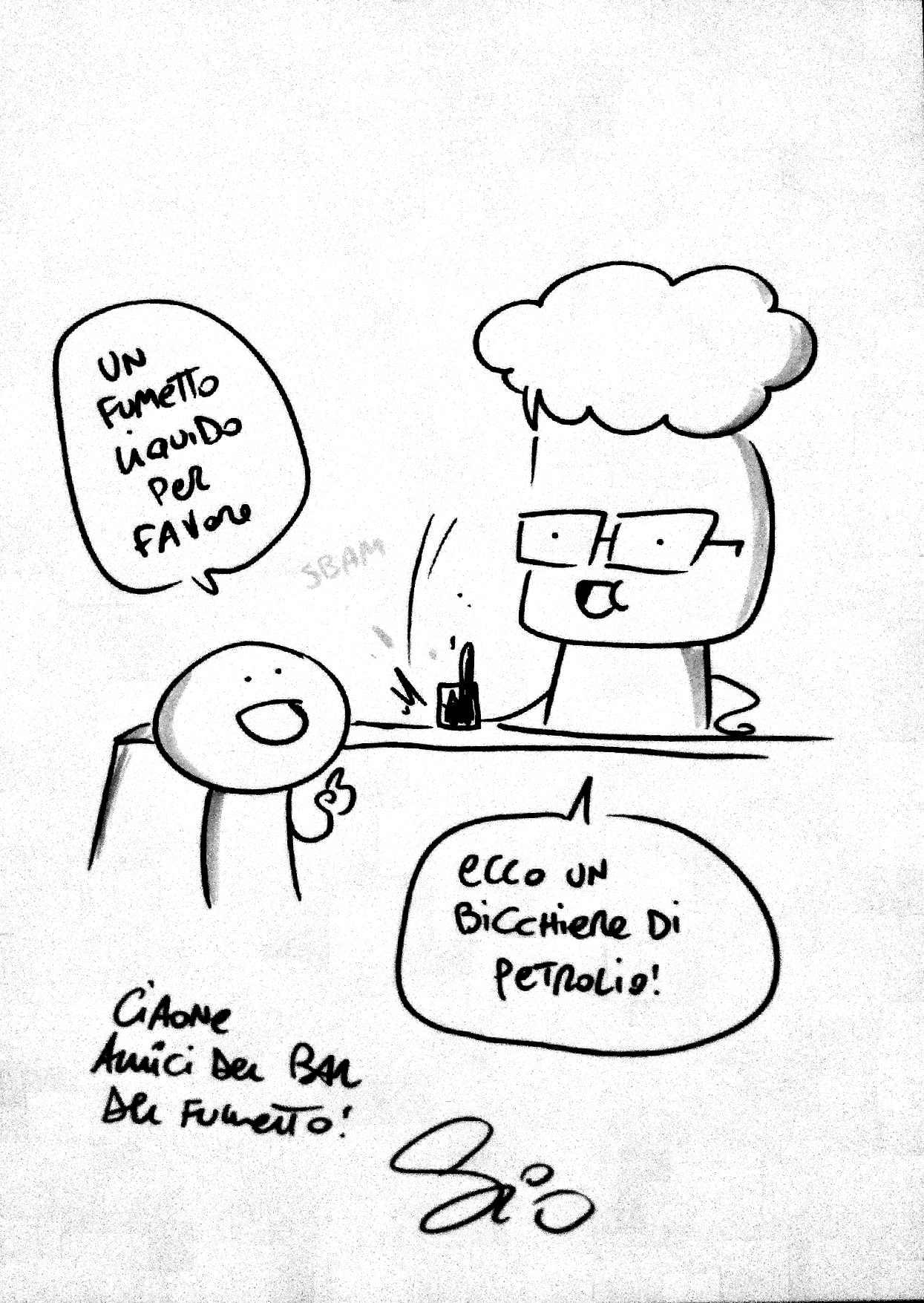 Chiacchiere Da Bar Intervista A Sio Ilbardelfumetto