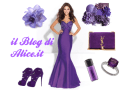 Outfit of the day, il viola con Yves Saint Laurent