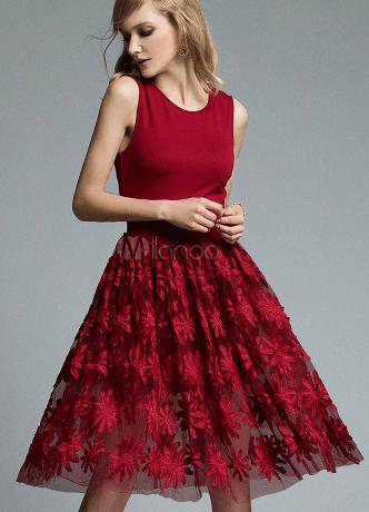 abito rosso per capodanno