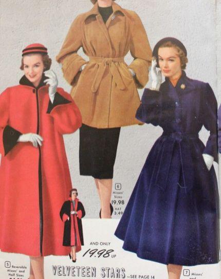 cappotto signora 1950