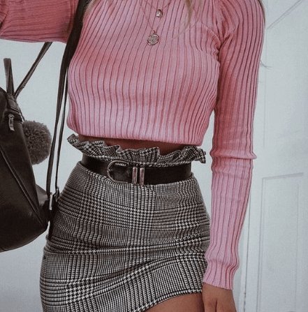 cropped outfit