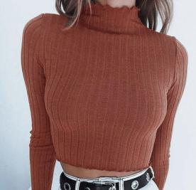maglia cropped top crop