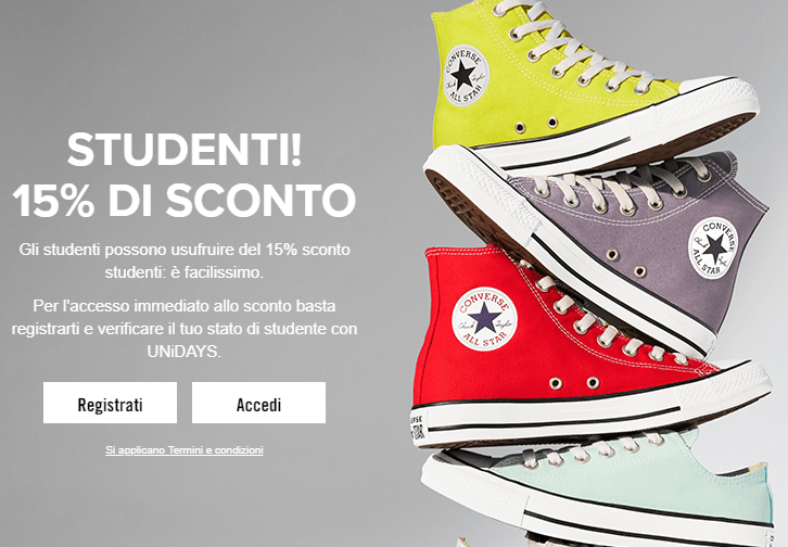 sneakers converse scontate