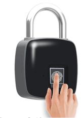 lucchetto biometrico