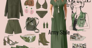Stile militare donna, non passa mai di moda