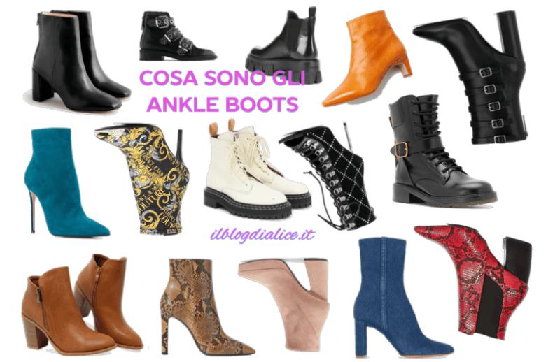 Ankle boots cosa sono e con cosa si indossano