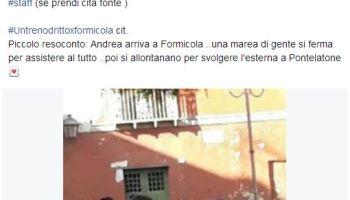 Esterna di Andrea Cerioli e Sharon Bergonzi a Napoli a Formicola