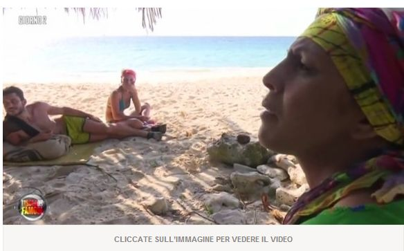 Valerio Scanu contro Rachida all'Isola dei Famosi