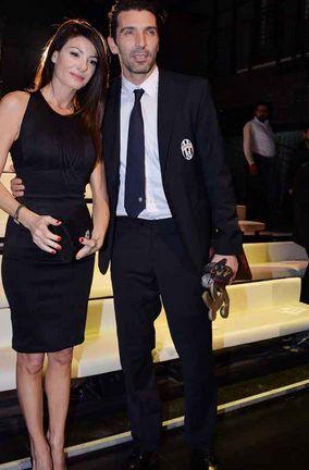 Gigi Buffon e Ilaria d'Amico insieme