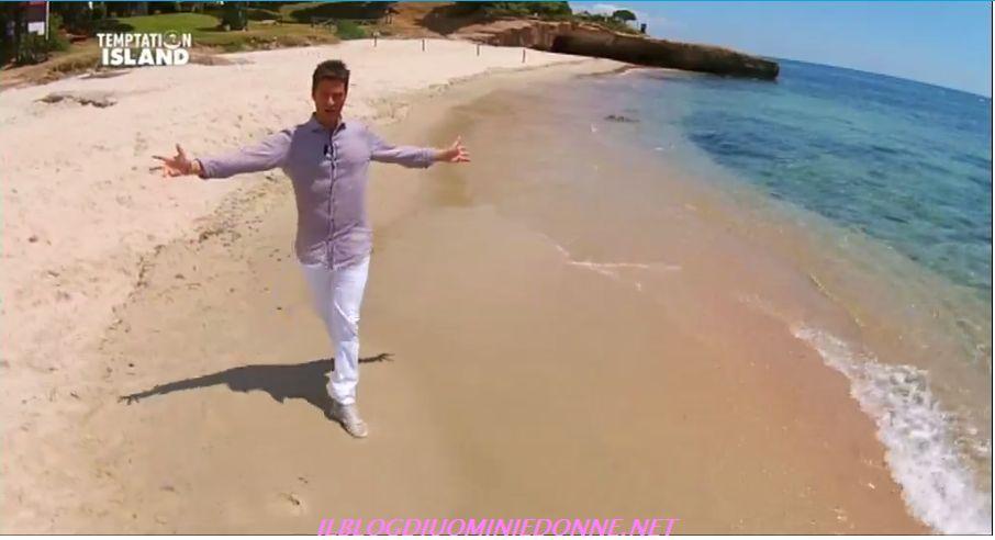 Filippo Bisciglia a Temptation Island a Cagliari