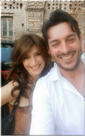 Barbara de Santi e Guido Soldati a Milano per un evento