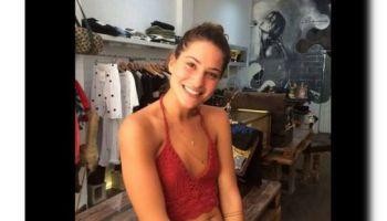 Ludovica Valli ride in palestra