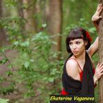 Ballerina Ekaterina Vaganova