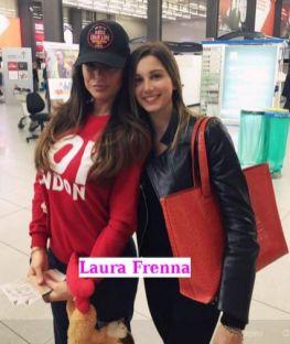 Laura Frenna con un'amica