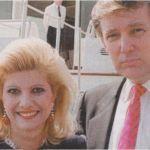 Donald Trump con Ivana