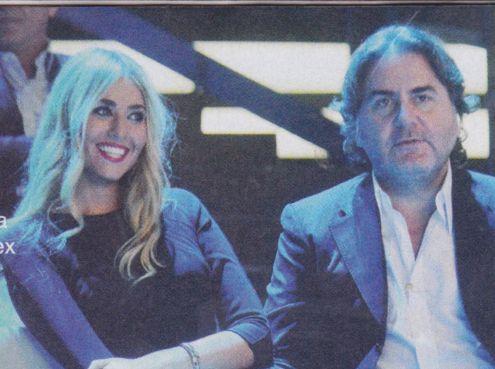 Natasha Tozzi con Stefano Ricucci