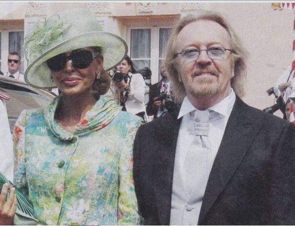 Umberto Tozzi con Elisa Persoglio