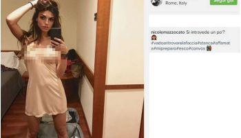Nicole Mazzocato incinta
