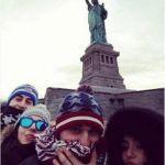 Sharon Bergonzi e Valerio in viaggio di nozze a New York