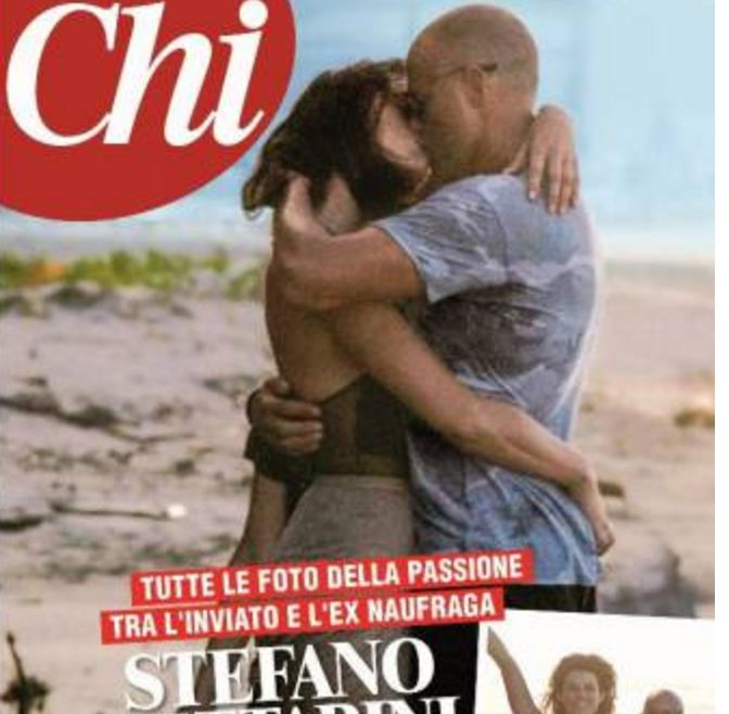 Dayane Mello si bacia con Stefano Bettarini