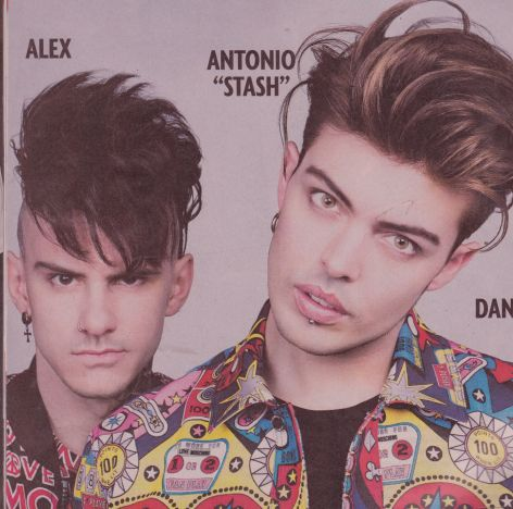 Antonio Stash leader The Kolors
