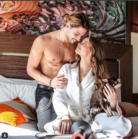 Luca Onestini e Ivana Mrazova a San Valentino