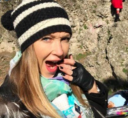 Ludmilla Radcenko innamorata del lavoro del marito Matteo Viviani e dei suoi figli