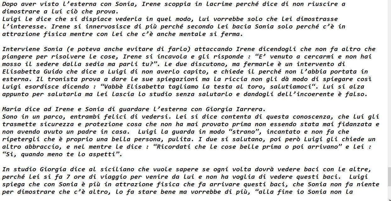 Anticipazioni Uomini e donne Lorenzo Riccardi Parte 2