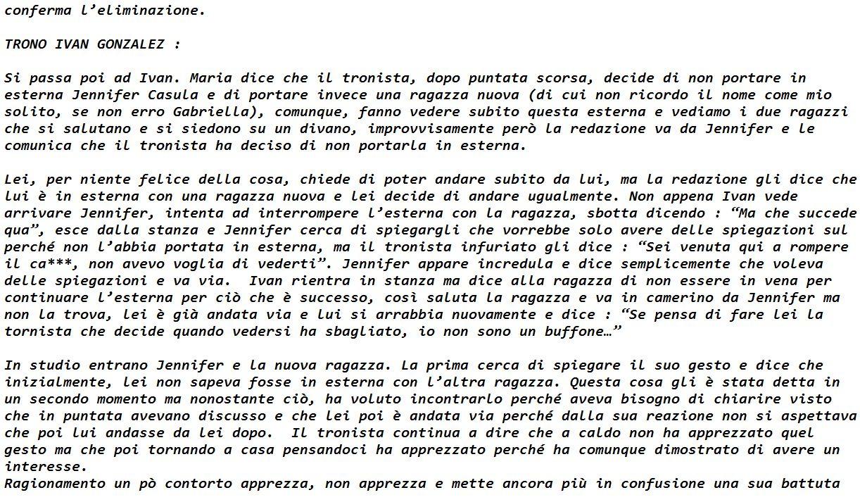 Anticipazioni Uomini e donne Lorenzo Riccardi Parte 99