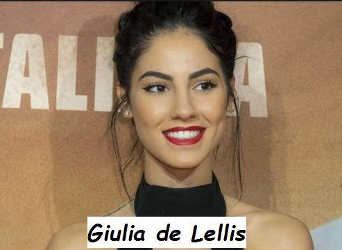 Corteggiatrice di Uomini e donne Giulia de Lellis