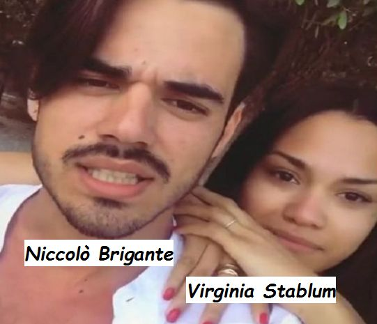 Niccolò Brigante e Virginia Stablum