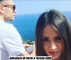 Salvatore di Carlo e Teresa Cilia innamorati