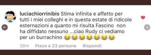 Uomini e donne  tutti contro tutti è litigio nel programma di Maria de Filippi parla Lucia  Chiorrini e Rudy Zerbi