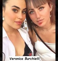 Veronica Burchielli con un'amica del cuore