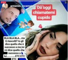 Armando Incarnato durissimo con Ida Platano su Instagram parte seconda