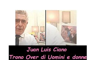 Juan Luis Ciano pensa a Tina CIpollari