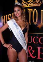 Sara Amira Shaimi modella a Miss Alto Lazio e vincitrice di fascia