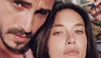 Francesco Monte con la nuova fidanzata Isabel de Candia