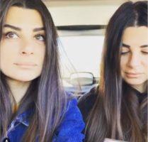 Elga Enardu e Serena con la sorella innamorata di Pago al Grande Fratello VIP