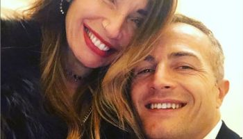 Ida Platano e Riccardo Guarnieri sorridenti