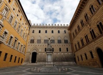 Sede del MPS a Siena
