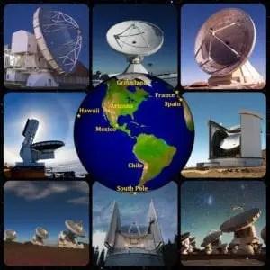 Event Horizon: radiotelescopi