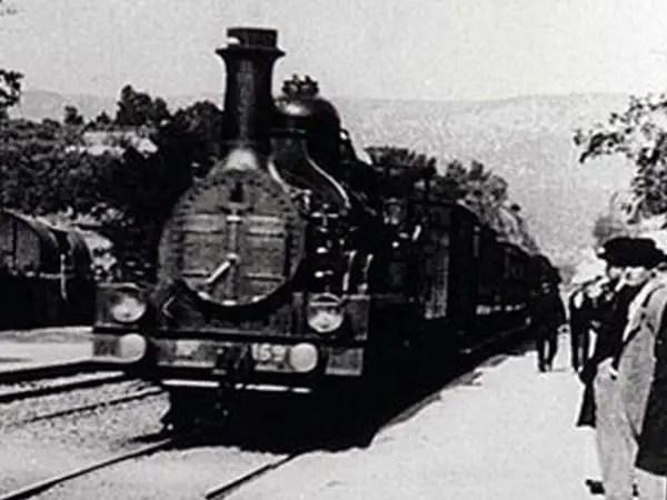 Arrivo treno la ciotat
