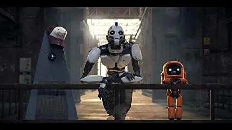 i tre robot