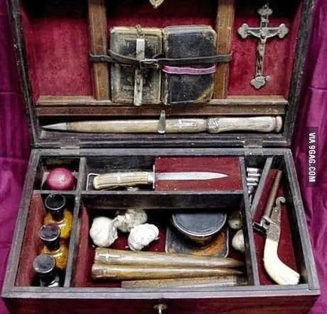 Armi popolarmente riconosciute come anti-vampiri