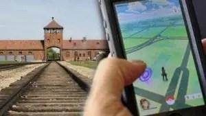 Pokémon Go Auschwitz
