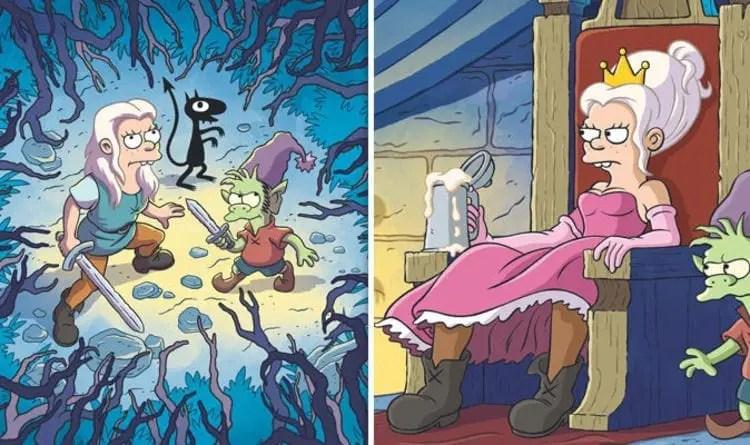 Matt Groening Disincanto